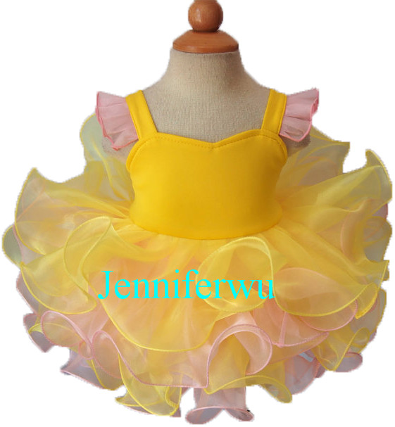 pageant party dresses prom dresses ball gown  baby dresses girl G127A