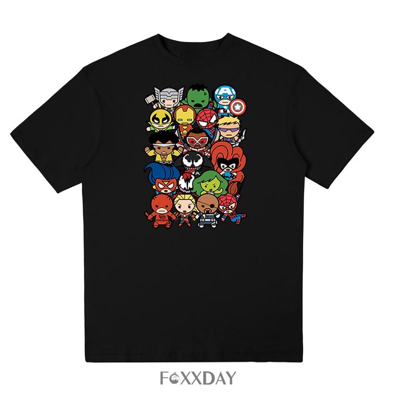 Marvel Avengers 3 Infinity War T Shirt Avenger Thanos iron man T-shirt Costume Cosplay Superhero Fashion Streetwear Tee Shirt