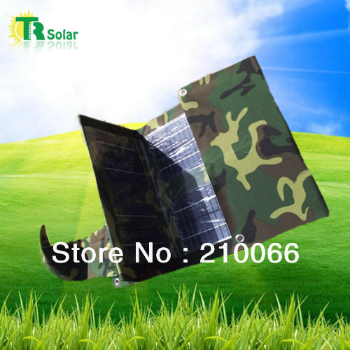 solar bank 30W waterproof foldable solar Charger Outdoor Trip Charging with USB Output 20000MAH Battey Charger+ free shipping
