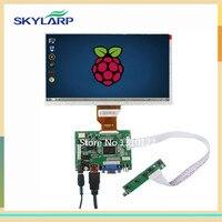 Skylarpu 9 Inch עבור AT090TN10 LCD פטל Pi בקר לוח נהג צג TFT מסך עם כניסת VGA HDMI (ללא מגע)