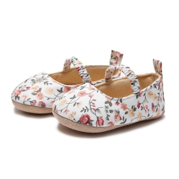 Newborn Baby Girls Shoes Toddler Infant First Walkers Spring Soft Sole Non-Slip Floral Princess Casual Shoes 0-18M 2019 #420