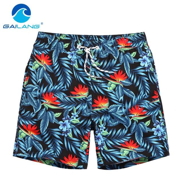 Gailang Brand Men Casual Beach Shorts Swimwear Bottoms Men's Jogger Bermudas Trunks Board Wear Big Size Shorts Man Swimsuits