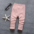 Baby girls cartoon kids pantalones de las muchachas 0-2 años de bebé pantalones