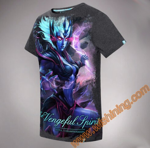 DOTA 2 Vengeful Spirit t-shirt Tee9101 (1)