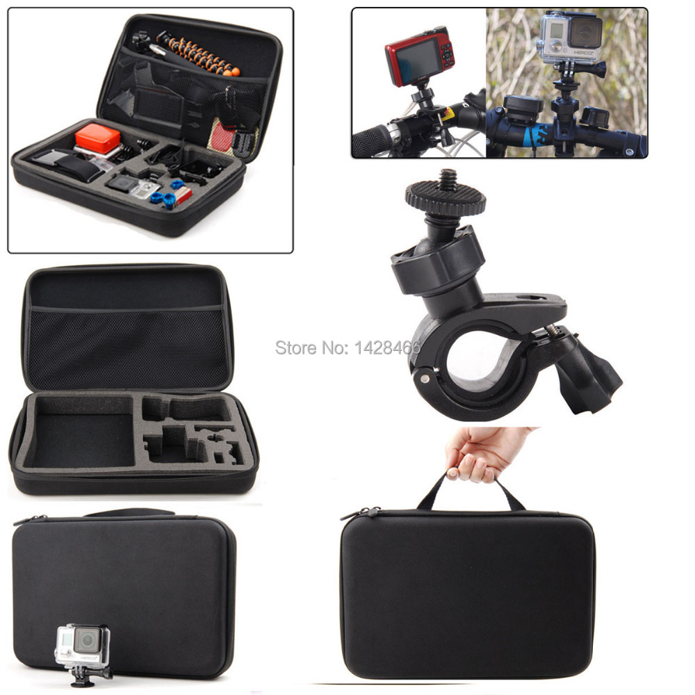 c6fc0eb3b2d Accessories Kit Winter Skiing Outdoor Sports Travel Kit for Gopro Hero 5 4  Black Silver HD 3+ 3 gopro hero 2-in Sports Camcorder Cases from Consumer  ...