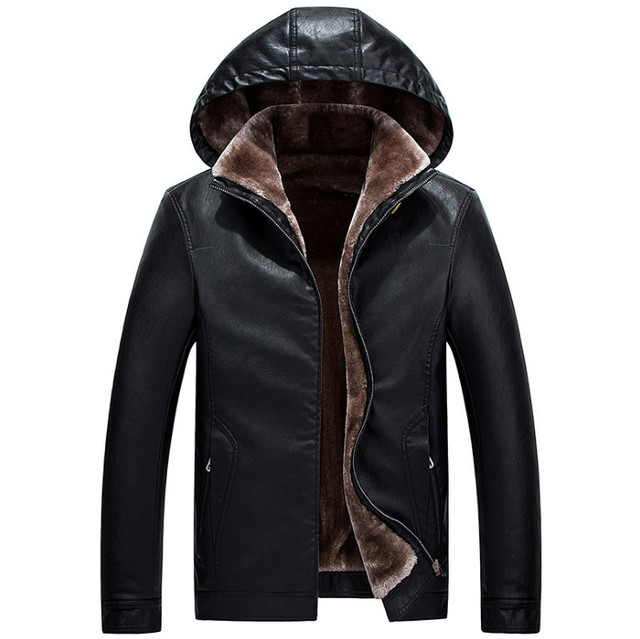 3344dcfc573 2018-Winter-Leather-Jacket-Men-Top-Quality-Faux-Fur-Coats -New-Thick-Casual-Male-Hooded-Leather.jpg 640x640.jpg