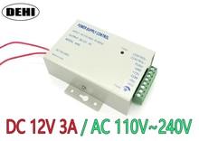 Sistema de Control de Acceso de puerta, interruptor de fuente de alimentación de 3A / AC 110 ~ 240V