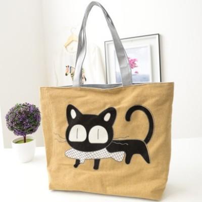 Canvas Women Casual Tote Designer Lady Large Bag Fashion dandelion Handbags Bolsas shopping bag New Womens Shoulder Bags