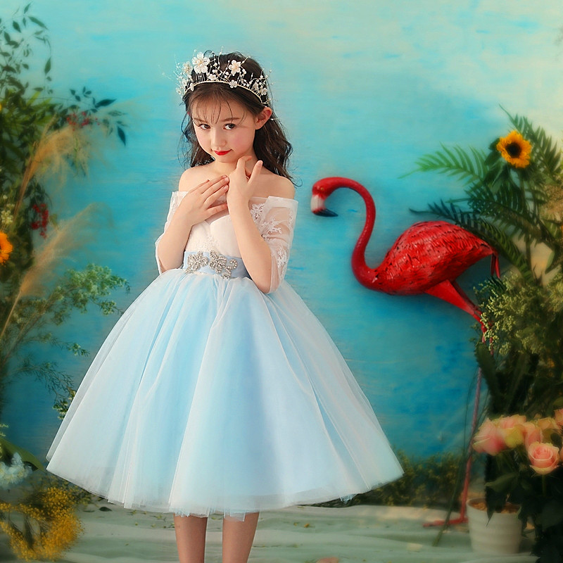2c8812f42e6 Formal Teenage Girls Party Dresses Brand Baby Girl Clothes Kids Toddler  Girl Birthday Outfit Costume Children. sku  32865363017
