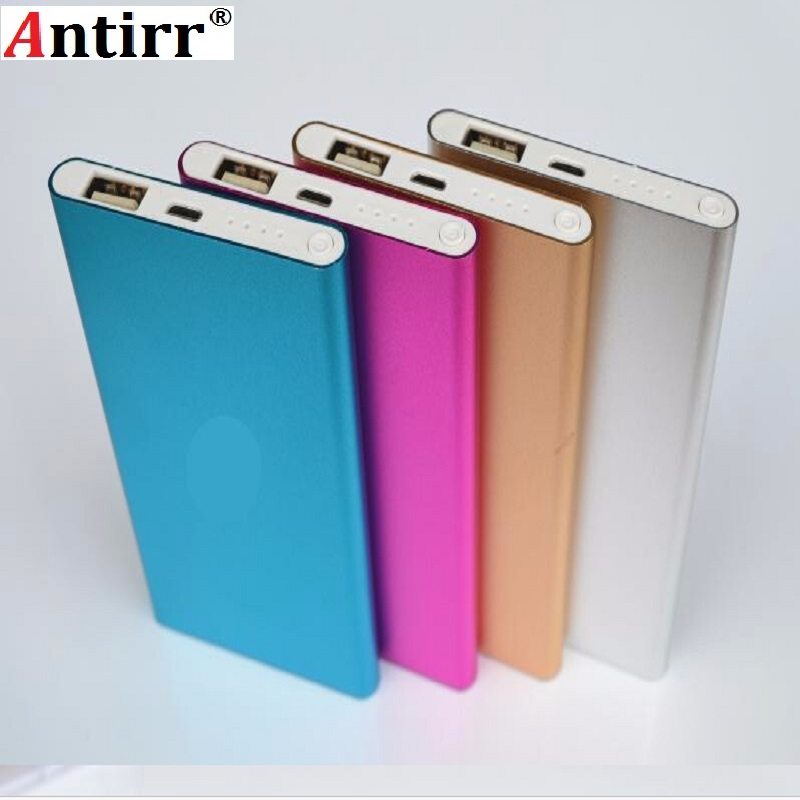 Super Slim polymer Power Bank 6000mah High Quality Powerbank External <font><b>Battery</b></font> Backup portable charger for all mobile phones image