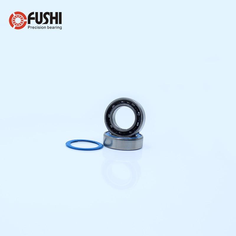 MR125-2RS MR125RS Rubber Sealed Ball Bearing Blue ABEC-3 10 PCS 5x12x4 mm