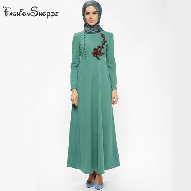 58053301b Moda musulmanes Abaya vestido islámico para las mujeres Dubai Kaftan Abaya  vestido turco musulmanes vestidos modesto