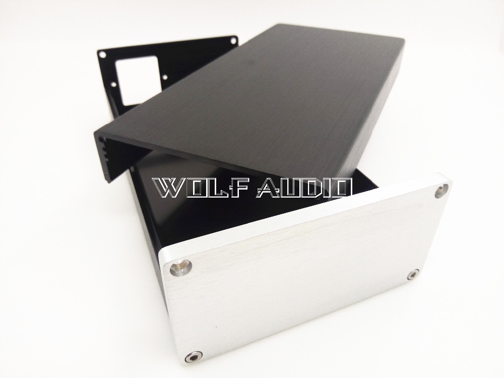 1005 Full Aluminum Amplifier Chassis /Mini AMP Case/ Preamp Box/ PSU Enclosure 102*50*208mm