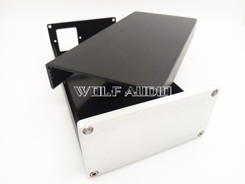 1005 Full Aluminum Amplifier Chassis /Mini AMP Case/ Preamp Box/ PSU Enclosure 102*50*208mm