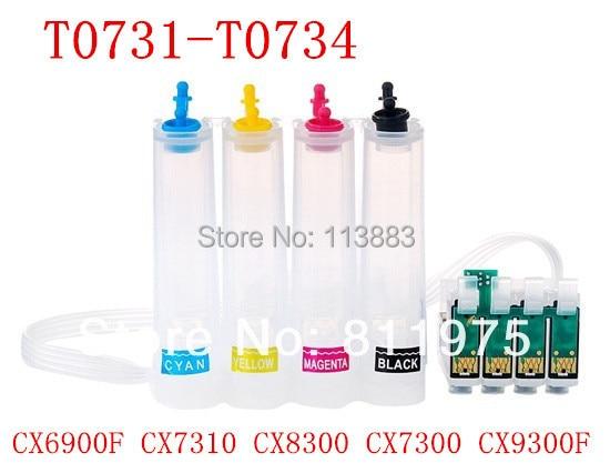 73 T0731 T0734 ciss continuous ink supply system for epson CX3900 CX5900 CX3905 CX4900 CX4905 CX6900F