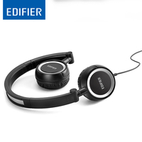 EDIFIER P650 Headset Earphone With MIC Bass Stereo Headset Hands Free Wired Control Earpiece HiFi Earbuds