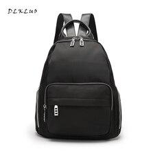 Dlkluo Новое поступление 2017 года стильный легкий нейлоновый рюкзак высокое качество известного бренда элегантный дизайн для девочек Школьный рюкзак путешествия