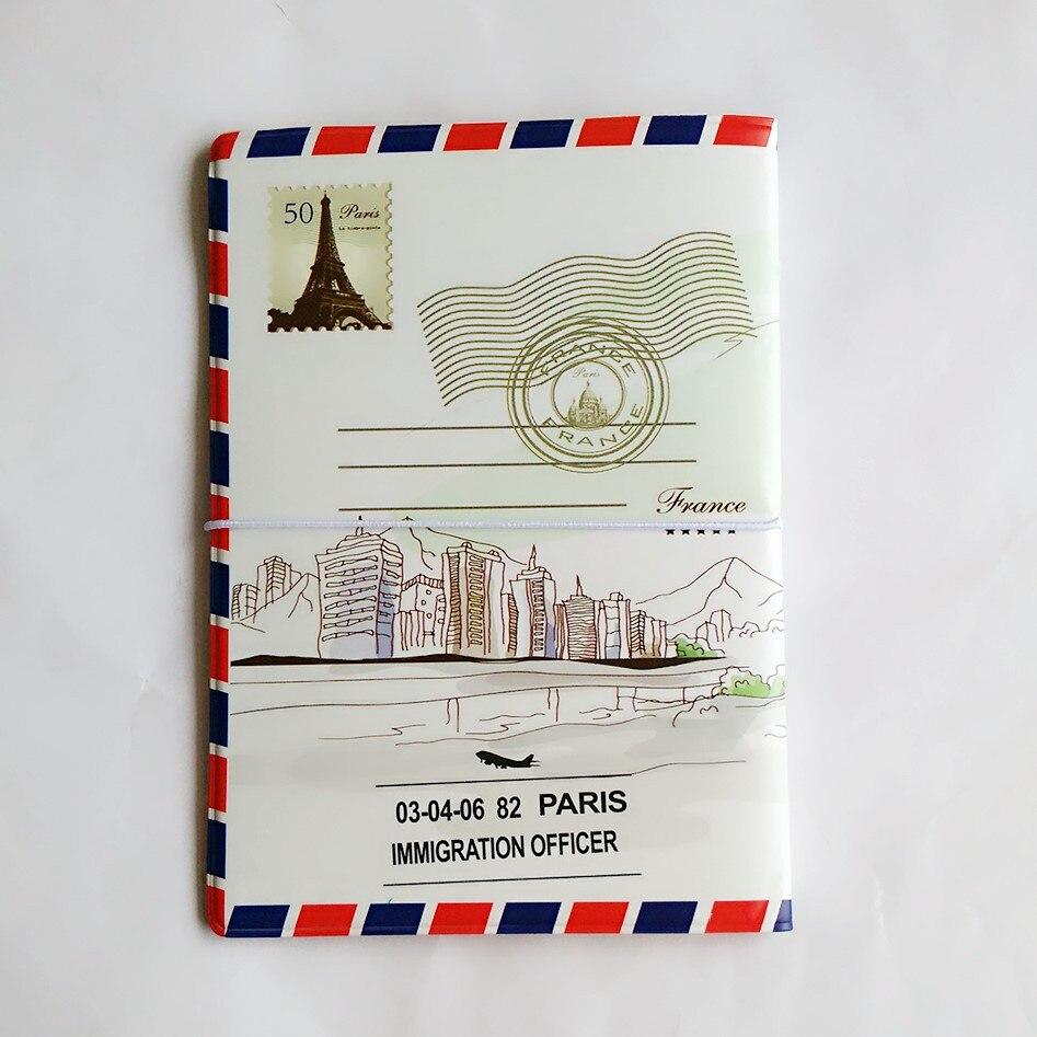 Nuevo estilo sobre frontera cubierta del pasaporte documentos bolsa ...