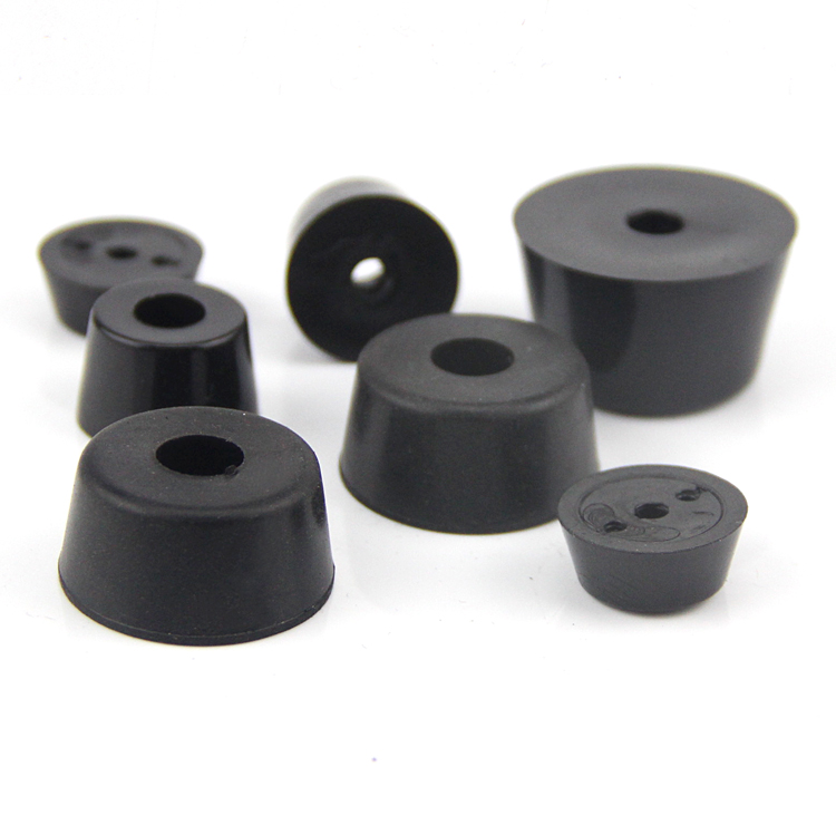 Fijn 10 Stks Diameter 18mm-20mm Tapered Rubber Voeten Antislip Demping Trapeziumvormige Schroef Hole Spacer Pakking 5mm-20mm Dikte Verlichten Van Reuma En Verkoudheid