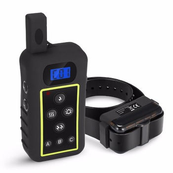 Dog training collar rechargeable electronic 2000meters remote dog shock collar for dog training