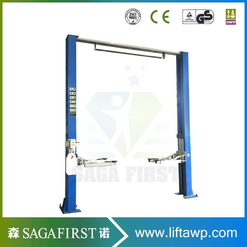 China Manufacturer Economic 2 Pillar Car Lifter Set