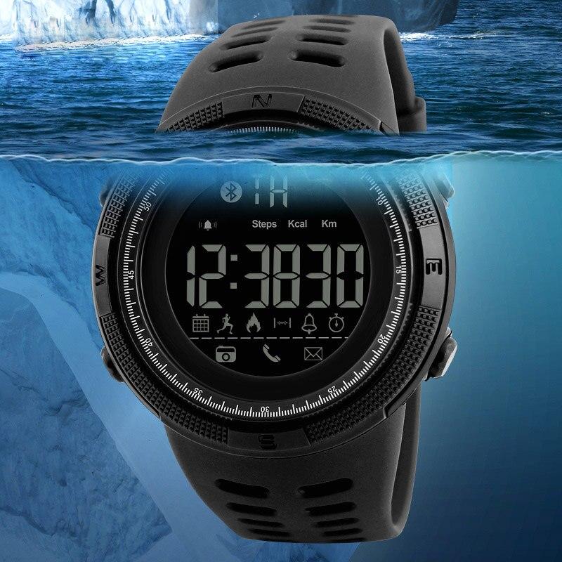 Quartz Wristwatches Photograph Digital Bluetooth Sports Waterproof LED Smart Cool Electronic