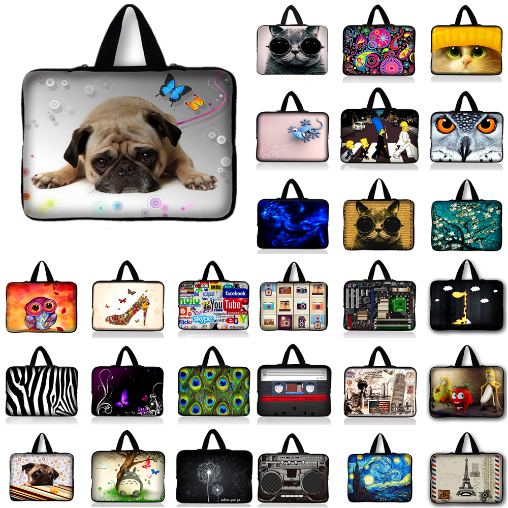 10.1 11.6 13.3 14.4 15.6 17.3 Laptop Notebook Computer Handle Sleeve Case Bag Notebook Cover Pouch For Macbook Lenovo Acer HP