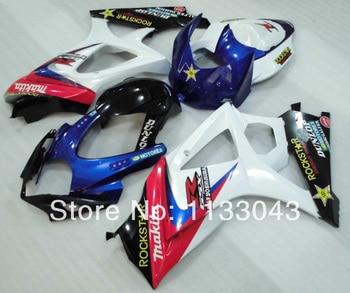 7gifts Fairing For SUZUKI GSX-R1000 K7 07 08 GSX R1000 GSXR 1000 NEW K7 07-08 White RED GSXR1000 2007 2008 Body