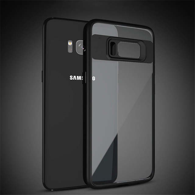 check out 8a48e 479fa US $2.39 20% OFF|TUMI.OVO For Samsung Galaxy Note 8 Cover for S8 Plus S7  Edge J3 J5 J7 2016 2017 Grand Prime J2 Full Transparent Back Cover Cases-in  ...