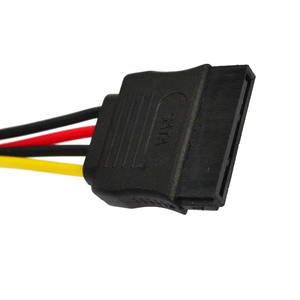 Image 4 - Marsnaska Excellent 1pcs Serial ATA SATA 4 Pin IDE to 15 Pin HDD Power Adapter Cable Hard Drive Adapter Male to Female Cable