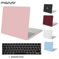 MOSISO Newe Clear Matte Plastic Hard Cover Case For Apple Macbook Pro 13 Touch Bar 2016