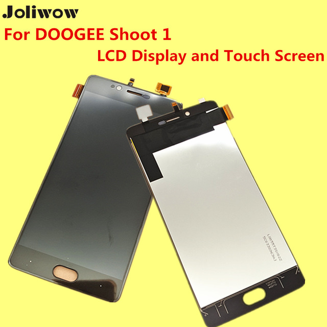 For DOOGEE shoot1 LCD Display and Touch Screen+Tools Digitizer Assembly Replacement Accessories For DOOGEE shoot 1 Phone