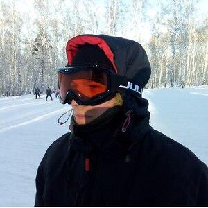 Image 5 - MAXJULI ブランドプロスキーゴーグル二重層レンズ防曇 UV400 スキーメガネ男性の女性の雪ゴーグル