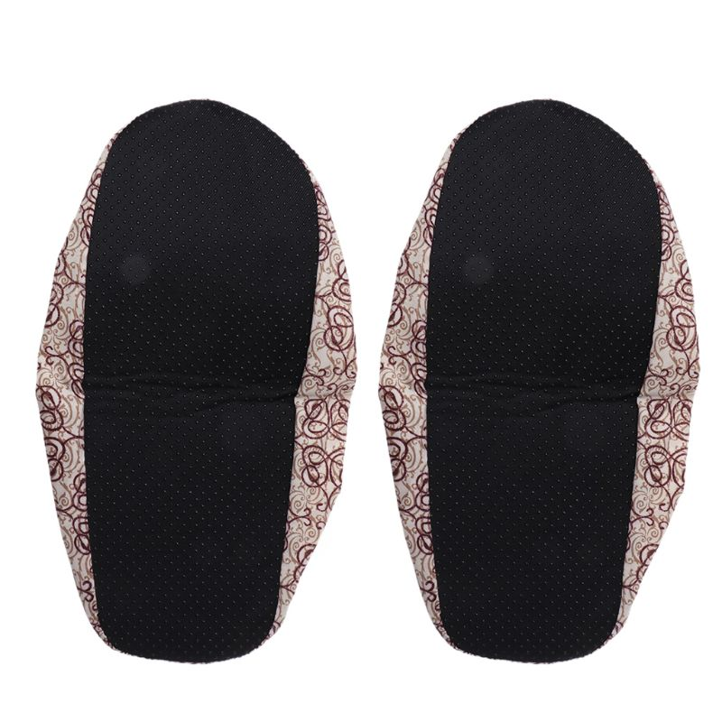 Floral Print Waterproof Shoe Covers Suitable for Universal Shoes with Easy to Wash and Non Slip Property Useful in Rainy season 12