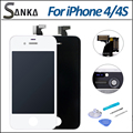 For Apple iPhone 4S 4 GSM  LCD Display Touch Screen Front Glass Digitizer Replacement Assembly & Free Tool AU US DE Stock