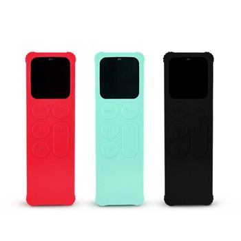 TV Remote Control Soft Silicone Protective Case Sleeve Cover Skin for Apple TV 4 4th Remote Case