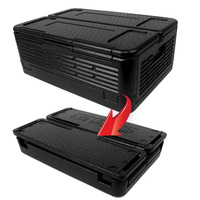 Multi functional Outdoor Folding Incubator Supermarket Fresh Food Transport Fresh Box Car Refrigerator Insulation Tool