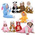 Mamelucos del bebé de Hello kitty muchachas de los bebés ropa de recién nacido ropa de bebé Mono de invierno de navidad roupa de bebe recem nascido
