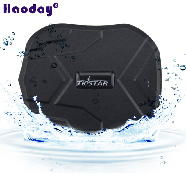 Impermeável Rastreador GPS Do Carro TK905 TKSTAR GPS mini tracker com ímã longo tempo de bateria do carro localizador gps com APLICATIVO Gratuito melhor gps
