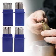 Профессиональные Ювелирные изделия, пуансон, набор штампов, выгравированный номер 1-9, набор инструментов для штамповки ювелирных изделий, инструмент для ремонта ювелирных изделий