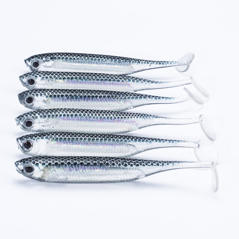 SEALURER 6pcs/lot New 75mm/2.2g Vivid Soft Lures Artificial Loach Fishing Bait Swimbait Fishing Worm e Fishing Lures|fishing lure|soft lurefishing worms - AliExpress