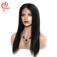 Hesperis Glueless 5x 4.5 Silk Base Lace Front Human Hair Wigs With Baby Hair Straight Brazilian Remy Hair Silk Top Lace Wig
