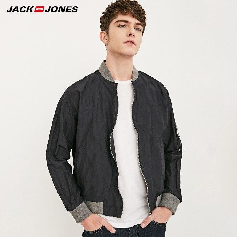 JackJones Men 39 s Spring Autumn Baseball Coat 218121573 in Jackets from Men 39 s Clothing