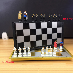 Image 3 - High quality Cartoon Character Magnets International Chess Portable Chess Teaching Training Children/Teenager Gift For Hot Sale