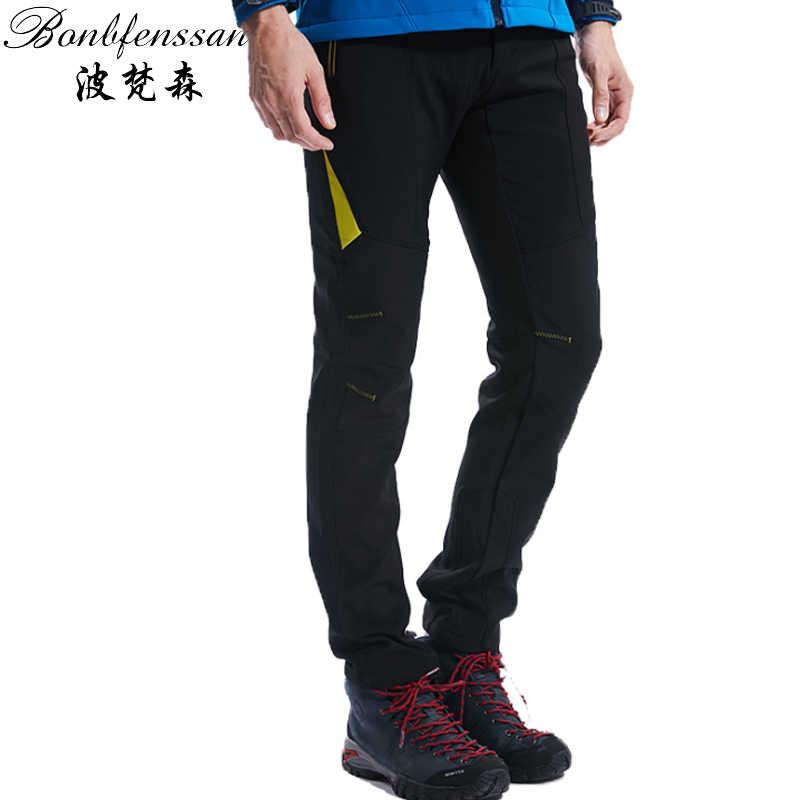Модные уличные брюки зимние теплые мужские походные брюки уличные флисовые брюки непромокаемые термостойкие для кемпинга альпинизм 1817A