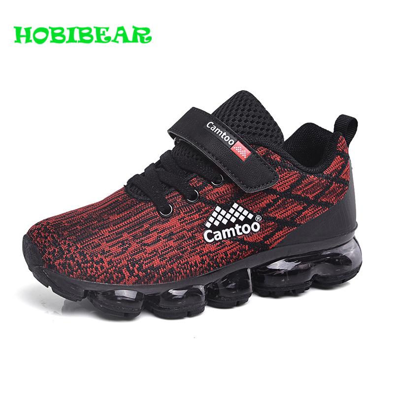 Kids Boys Brand Trainers Spring Summer Girls Running Shoes Red Purple Children Unisex Sneakers Breathable Non