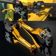 FREAXLL Motocross Dirt Bike Pivot Brake Clutch Levers Handle Grips CNC for Suzuki RMZ250 RMZ450 RMZ-250 RMZ-450 RMZ 250 450