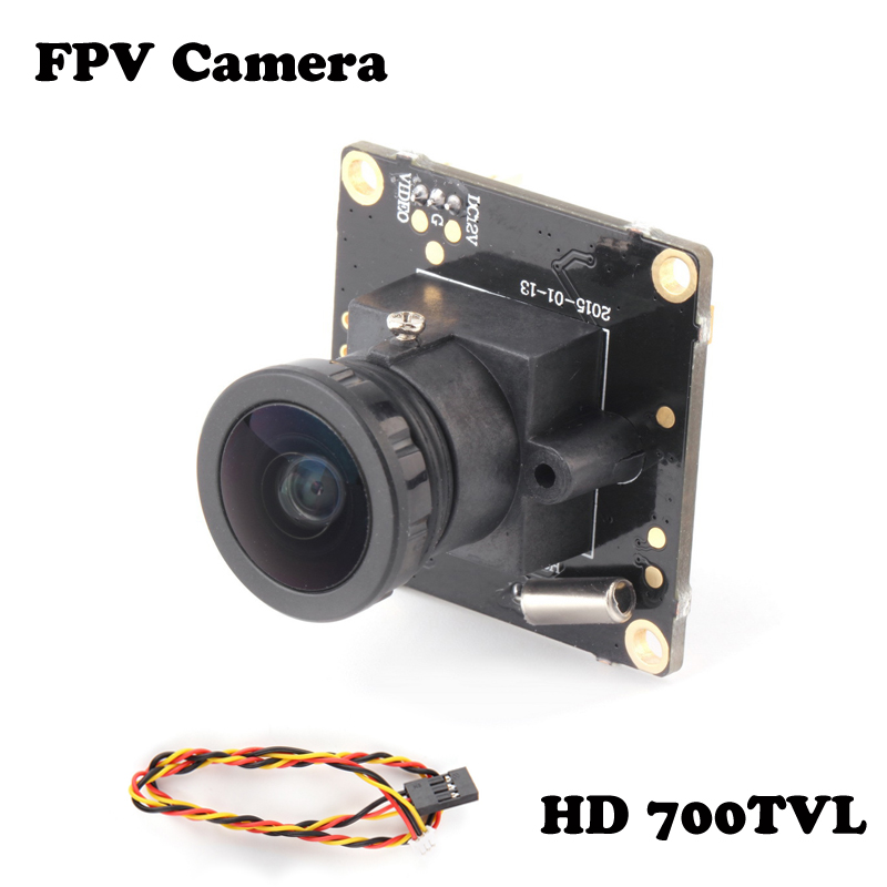Wholesale 1pcs HD 700TVL Sony CCD PAL or NTSC FPV Camera OSD D-WDR Mini CCTV PCB FPV Tiny Wide Angle Camera 2.8mm Lens Dropship