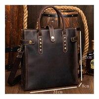 DWOY портфель из натуральной кожи s Мужская Повседневная деловая сумка портфель сумки чехол для ноутбука для путешествий Сумочка