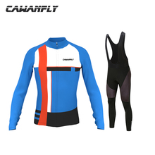 Brand Long Sleeve Spring Pro Cycling Jersey Set Racing Bike Sportswear MTB Bicycle Clothing Maillot Ropa